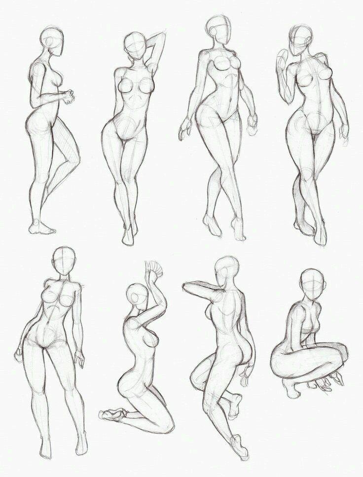 Female Pose Anatomy | Anatomy/Tutorials | Pinterest | Female poses ...