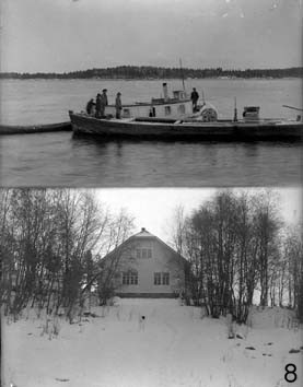 Soapstone was shipped from Pielinen through Saimaa to St. Petersburg, Russia. Soapstone was used a lot in building.