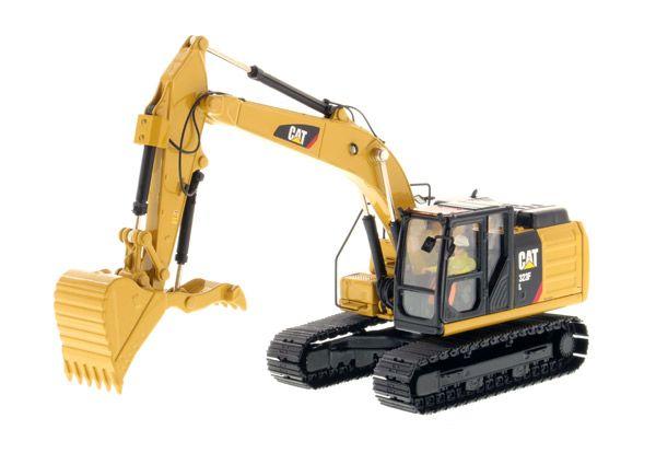 Diecast Masters Caterpillar 323F L Hydraulic Excavator