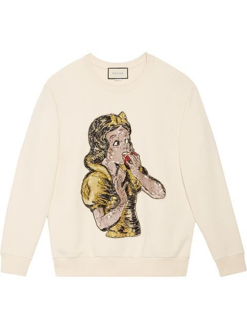 76b51377c Gucci Felpa 'Biancaneve' - Farfetch | Dress.... nel 2019 | Gucci ...