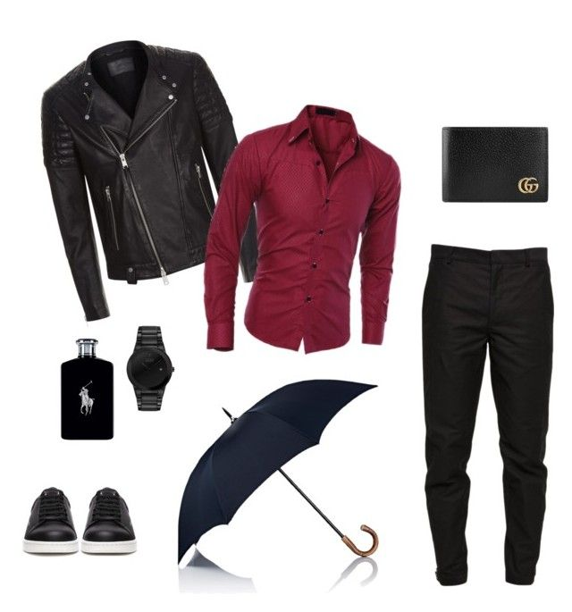 """""""Untitled #13"""" by lillus-lako-ll on Polyvore featuring Maison Margiela, AllSaints, Undercover, Ralph Lauren, Barneys New York, Citizen, Gucci, men's fashion and menswear"""