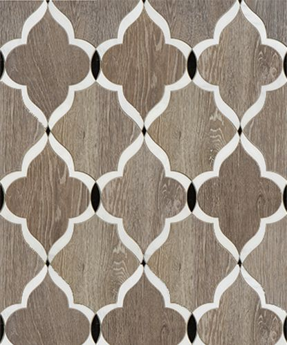 sterling row chesterfield in natural walker zanger decorative tile - Decorative Tile