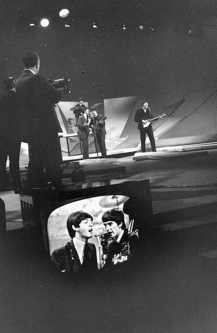 The Beatles on Ed Sullivan 2-9-1964 - first set.