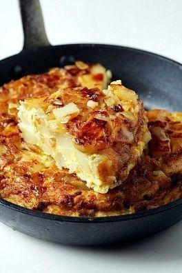 Tortillas de papas: Tortilla de papas al horno facil