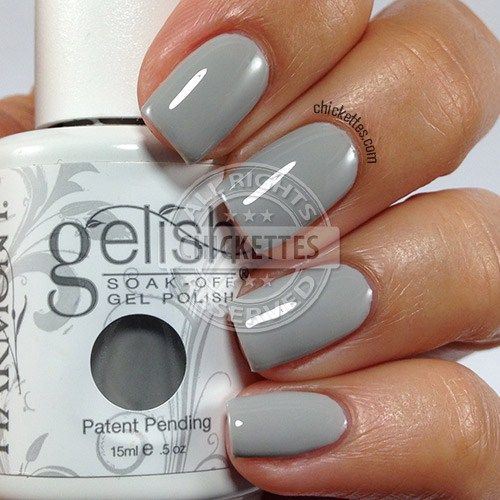 Gelish Cashmere Kind of Gal swatch by Chickettes.com