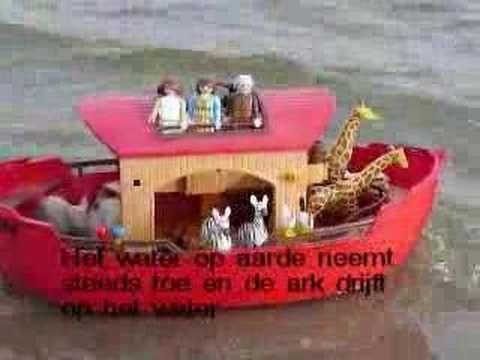 Het verhaal van de Ark van Noach verteld door middel van playmobil. (the original)