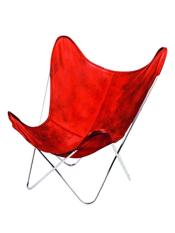 Butterfly chair  Кожаное кресло, созданное аргентинцем Хорхе Феррари-Хардоем в 1938 году