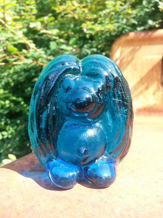 Vintage Scandinavian Bergdala art glass troll by fcollectables, €25.00