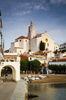 Cadaques village. Costa Brava, Girona. Catalonia,