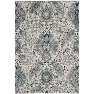 Shop For Safavieh Madison Bohemian Cream Light Grey Rug 9 X 12 Dining Room