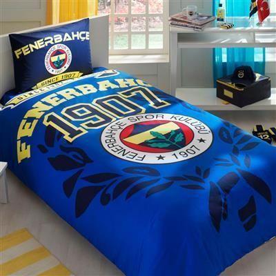 Taç Fenerbahçe Legend Tek Kişilik Yatak Örtüsü Seti | cazip geldi
