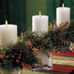 Looking for Christmas centerpiece ideas? Here are some great ideas from Taste of Home.    Fire-and-Ice Holiday Centerpiece  Guests will be ...