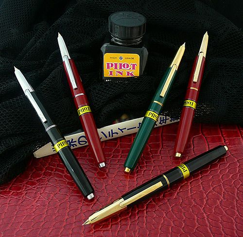 Pilot Namiki Vanishing Point Capless Fountain Pen History Page | Carmen Rivera Pens