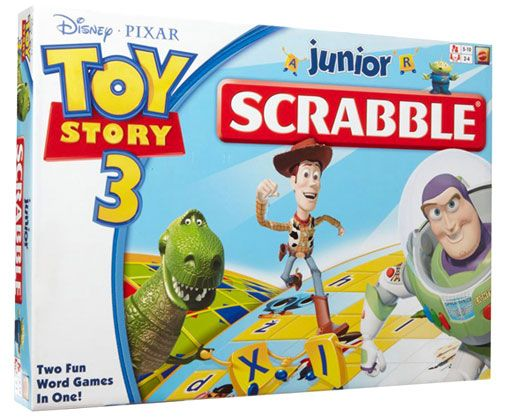 Buy Toy Story 3 Junior Scrabble from Games Paradise at Westfield or buy online from the Games Paradise website.