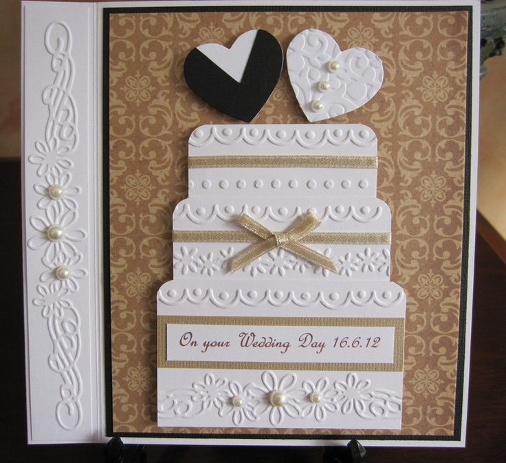 Card Making Ideas Wedding Part - 15: Wedding Cake Card By Michele G - Cards And Paper Crafts At  Splitcoaststampers