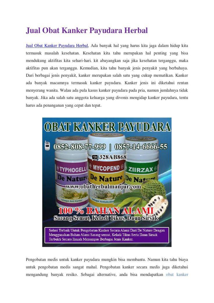 Jual obat kanker payudara herbal http://www.4shared.com/office/iB-VUr9qce/Cara_Mengatasi_Kanker_Pada_Pay.html
