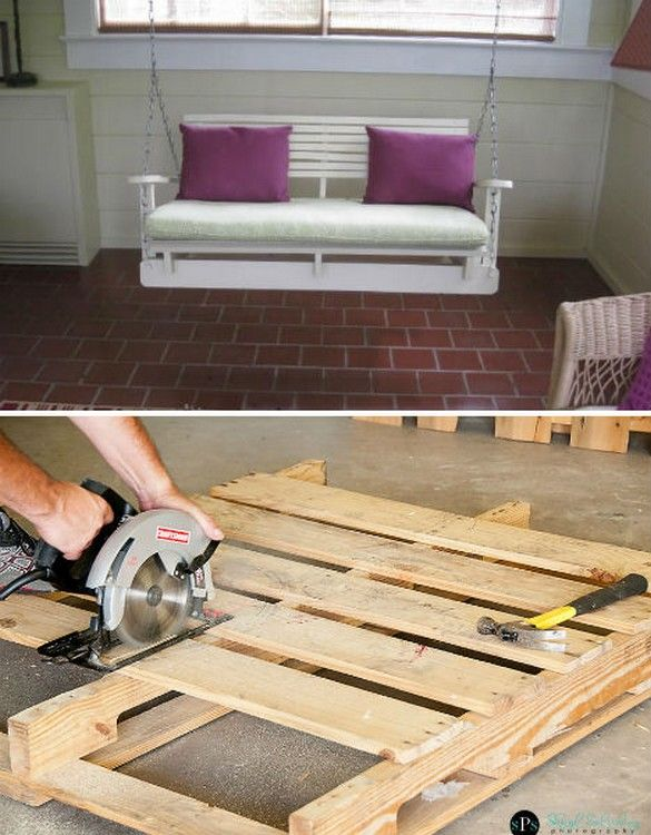 Pallet Patio Swing 24 best pallet furniture projects images on pinterest | pallet