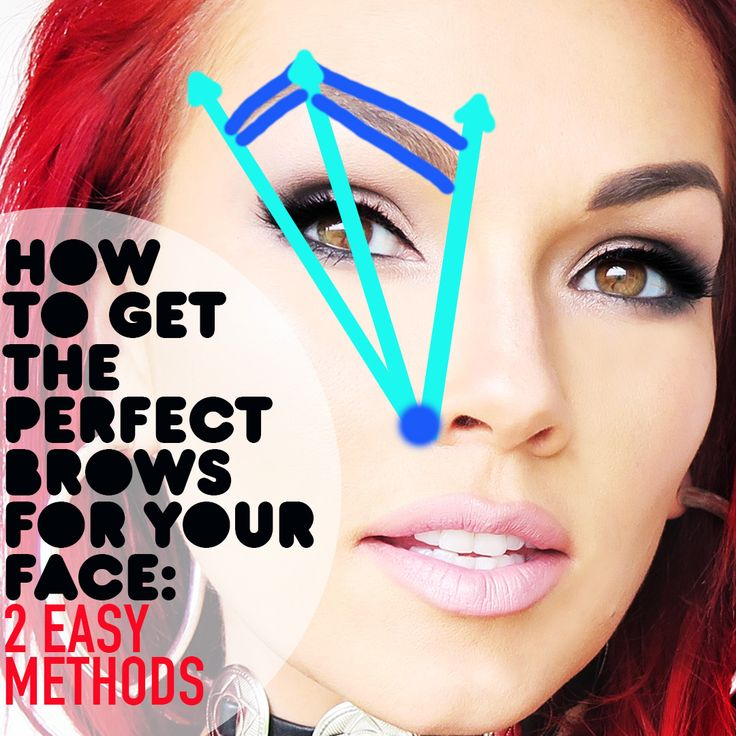 How To Get The Perfect Shape Eyebrows For Your Face Amp 2