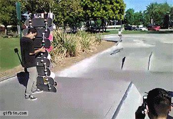 스케이트 보드 점프달인