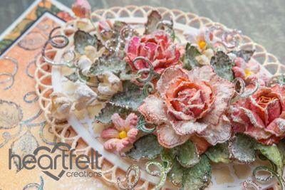 Creative Inspiration + a Vellum Rose Video - Heartfelt Creations