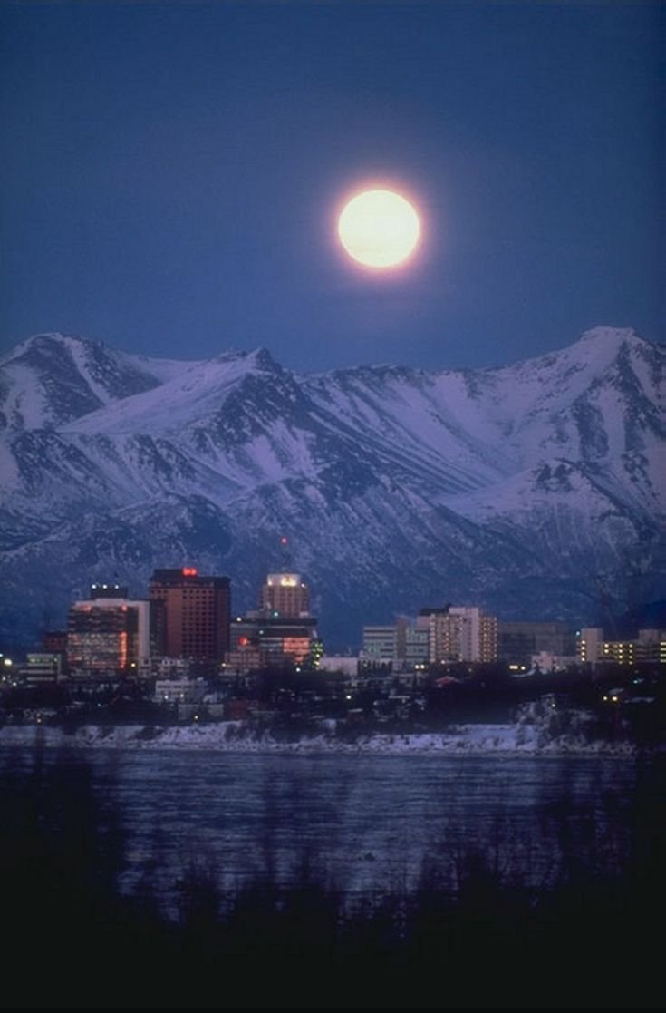 Any trip in Alaska has to include Anchorage!