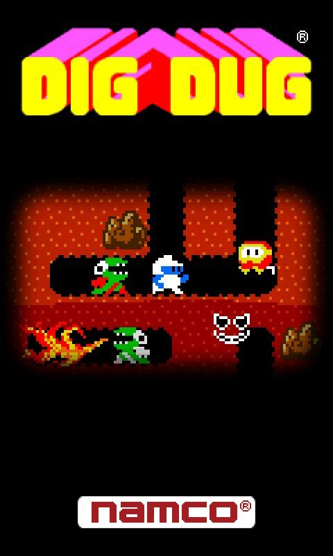 Classic Game Room Dig Dug