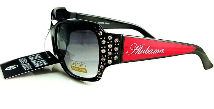 University Of Alabama Crimson Tide Sunglasses Chantilly Rhinestone Accent Roll Tide