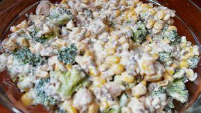 Swojskie jedzonko: Sałatka z brokułów i fety-pyszna