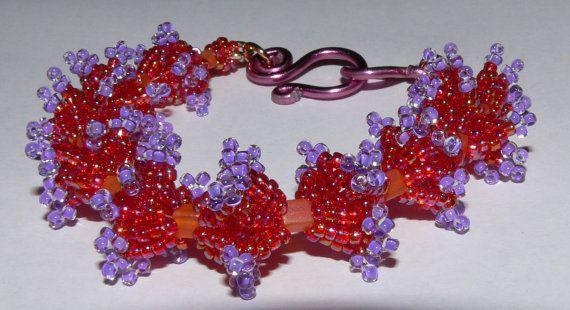 Bracelet Necklace Beading Kit  Japanese seed bead  by MMDJewellery