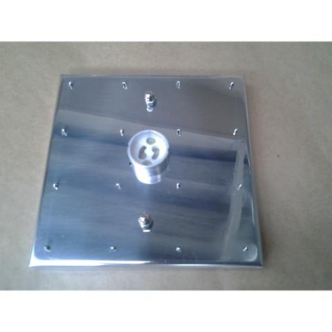 Base em Inox  14cmx14cm