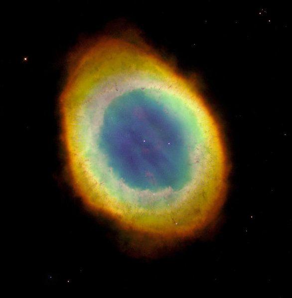 Μαγευτικές φωτογραφίες από την NASA_Το νεφέλωμα Ring φωτογραφημένο από το διαστημικό τηλεσκόπιο Hubble, 1 Οκτωβρίου 1995.