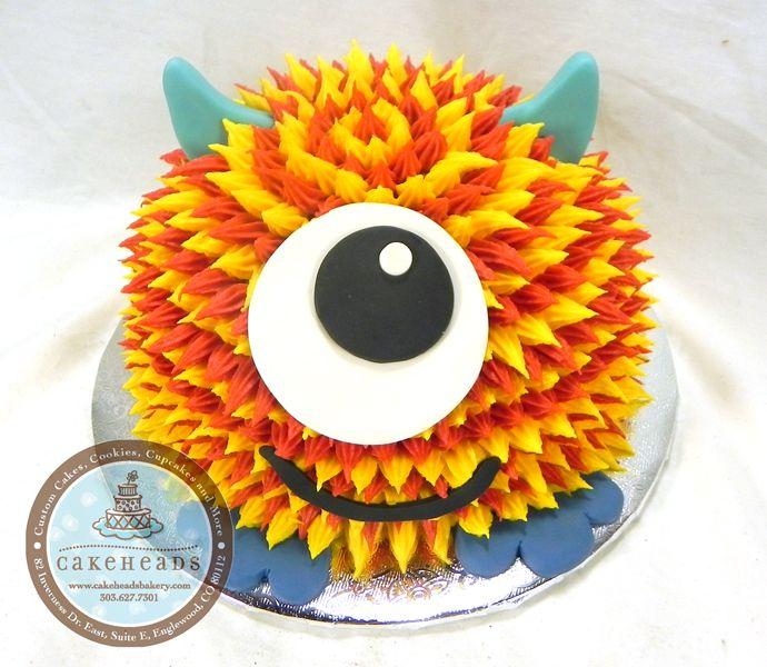 Little Monster Smash Cake