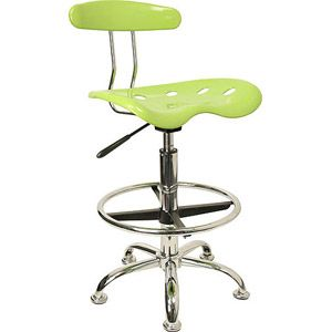 Adjustable Height Drafting Stool With Tractor Seat, Multiple Colors    Walmart.com