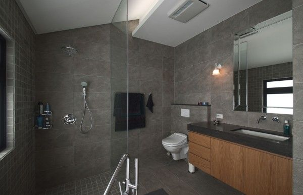 Modern apartment designs by phase6 design studio for Studio apartment bathroom design ideas