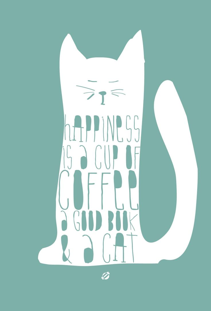 For Coffee Lovers + Cat Lovers Alike LostBumblebee Free Printable- Personal use only.