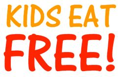 A list of places (and when) kids eat free. Good to know!!