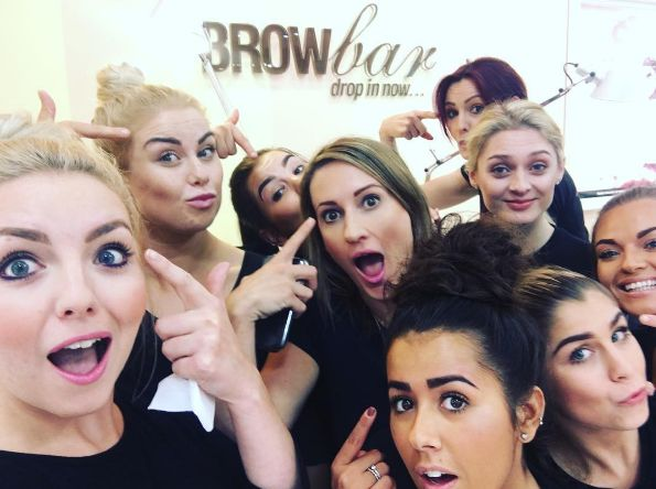 Proud brow moments during training. xx