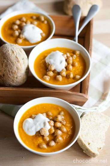 chickpea carrot soup