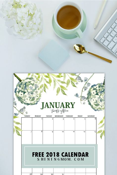 It's time to plan the brand new year! Here are free printable January 2018 calendar planners that you can print and use immediately to plan out the first month of 2018! There is nothing like …