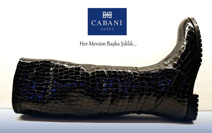 cabanishoesHer mevsim başka şıklık  #Cabani #women #instamood #instagood #ayakkabi #shoes #shoesoftheday #kadin #kadingiyim #moda #fashion#moda #fashion #women #womenwear #gununayakkabisi #cizme #şık #siyah #parlak #rahat #comfort #deri #kıs #winter