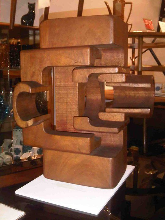 Brian Willsher 1978 Wood Sculpture