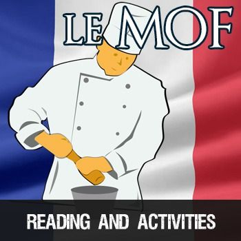 Le MOF - best workers of France.  Reading and activities for intermediate/advanced French students.