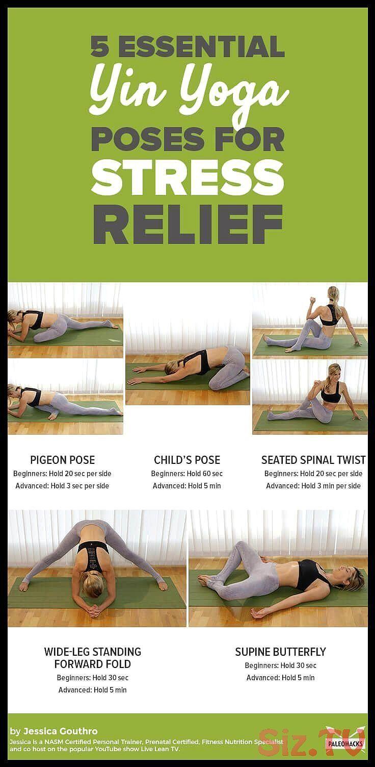 Entdecken Sie Leichte Yin Yoga Stellungen Die Sich Hervorragend F R Entspannung Verj Ngung Eignen Entdecken Sie Leichte Y Stress Yoga Yin Yoga Poses Yin Yoga