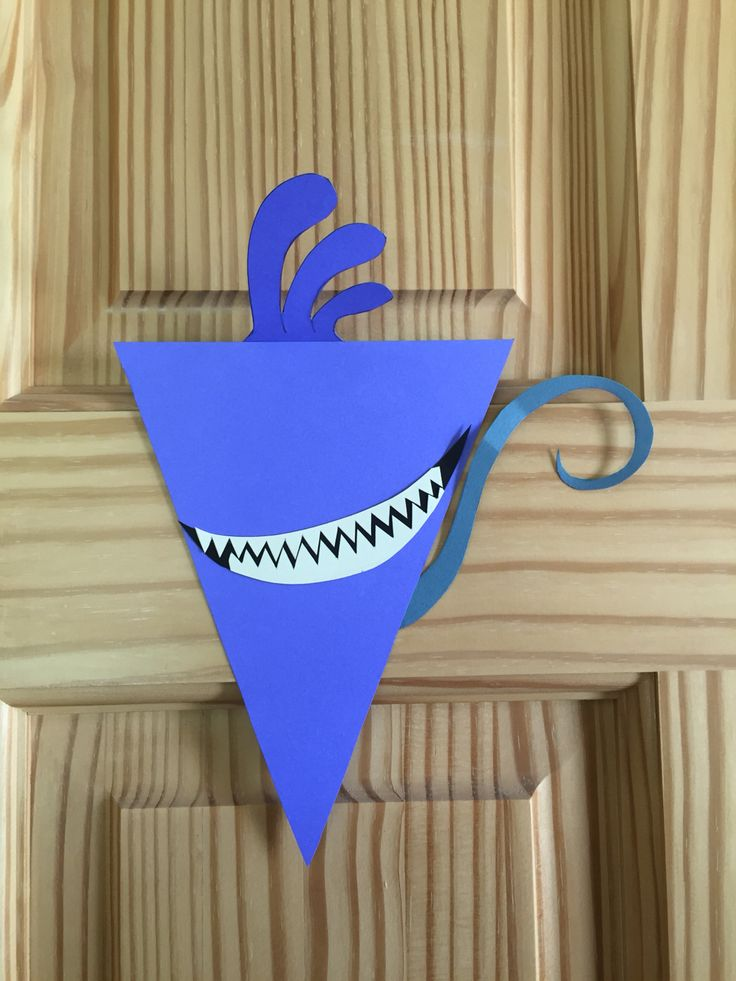 Monsters Inc Character bunting banner. Randall Boggs :)