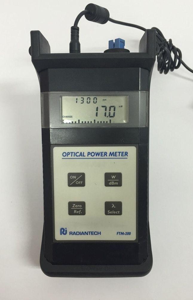 [Radiantech FTM-200] Optical Power Meter/ 630 nm to 1550 nm #Radiantech