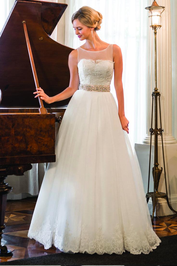 96 best wedding dress images on pinterest wedding frocks for Simply elegant wedding dresses