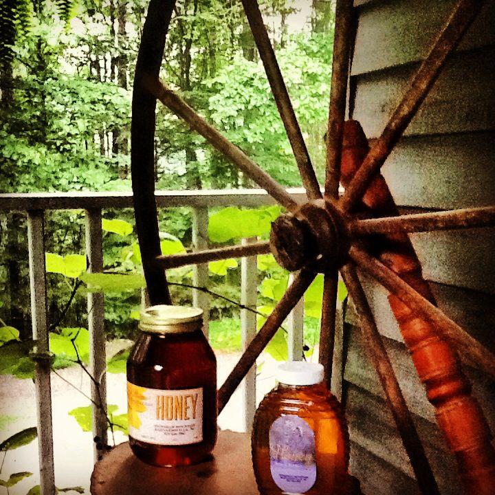 Spinning Wheel originates from Jack's Creek, Burnsville, NC.  Honey, Barnardsville, NC.