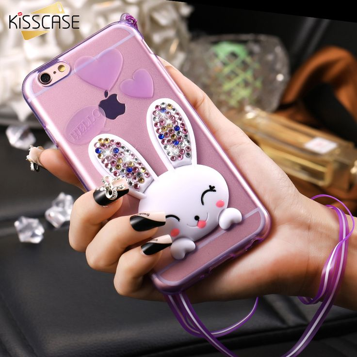 KISSCASE For Apple iPhone 5 SE Case Fashion Clear Bling Crystal 3D Rabbit Cover For iPhone 6 7 Cute Bunny Kick-Stand Soft TPU //Price: $7.00 //       #LiveYoungLiveFree    #shoutoutback #shoutout4shoutou #so #so4so #soback #shoutouter #shoutouts #tagblender #shoutout4shoutout #s4s #shoutoutforshoutout #sobackteam #thankyou #shoutmeout #shout_out #shouts #shoutoutpage #shoutouts_4_pets #shoutoutme #shoutoutshere #shoutouts4free #shoutouts_4_cats #shoutoutsforyou #shoutoutplease #f4f #l4l #c4c…
