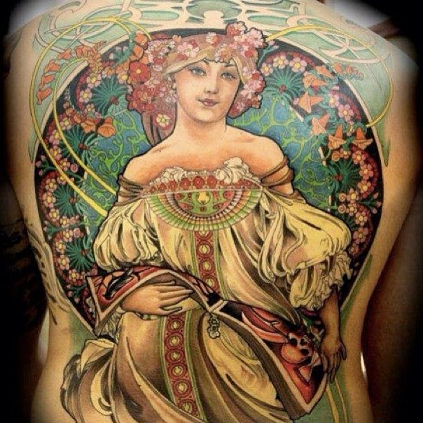 314 best images about mucha art nouveau tattoos on