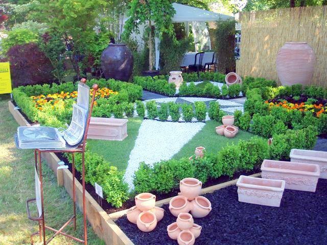 Las 25 mejores ideas sobre piedras decorativas para jardin for Canteros de jardin